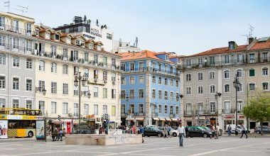 Barrio La Baixa Lisboa