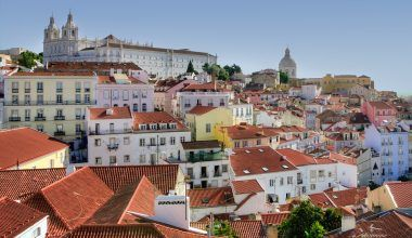 Barrio la Alfama Lisboa
