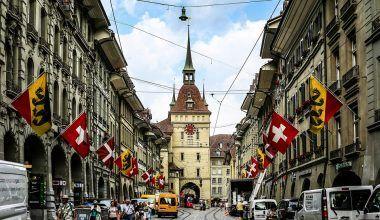Casco histórico de Berna
