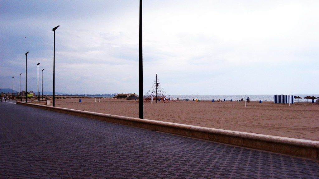 La Playa de la Malvarrosa