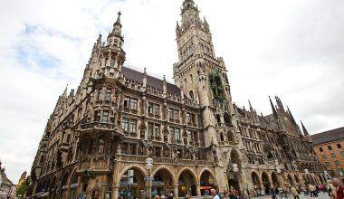 Nuevo Ayuntamiento de Múnich